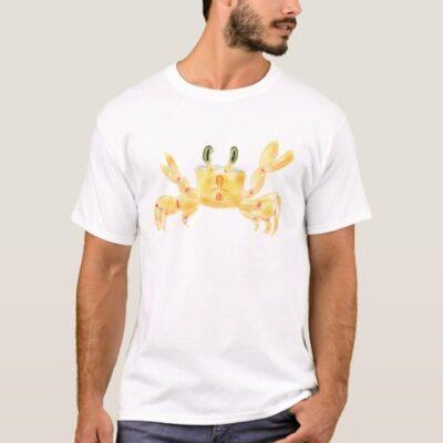 Crab Artwork Mens T-Shirt